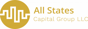 All States Capital Group Logo - Yellow